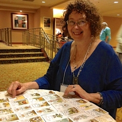 Mary K. Greer reading Lenormand cards