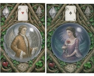 The Man and the Woman from The Enchanted Lenormand