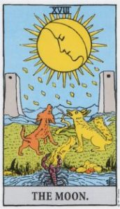 From the Rider-Waite Tarot published by US Games Inc.