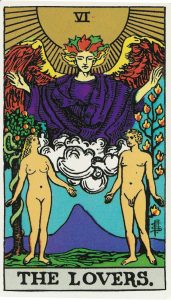 From the Albano-Waite Tarot.