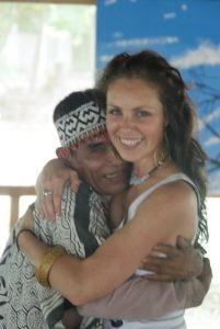 Madam Kali with one of her favourite Peruvian Shamans!